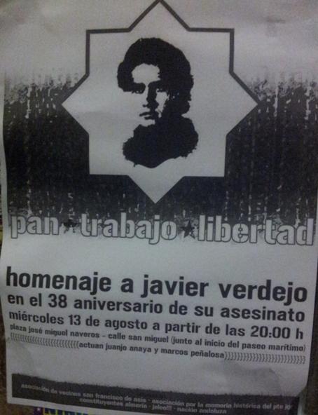Memoria Histórica Javier Verdejo Almería