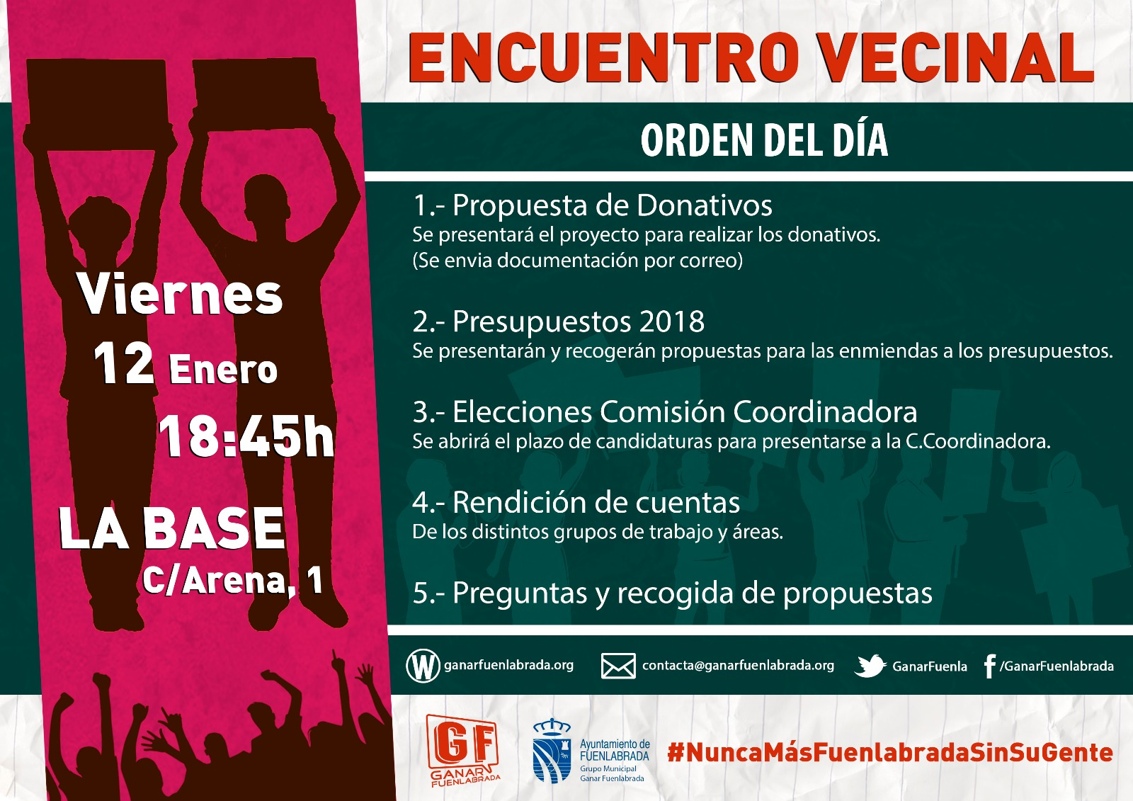 Encuentro vecinal 18-1