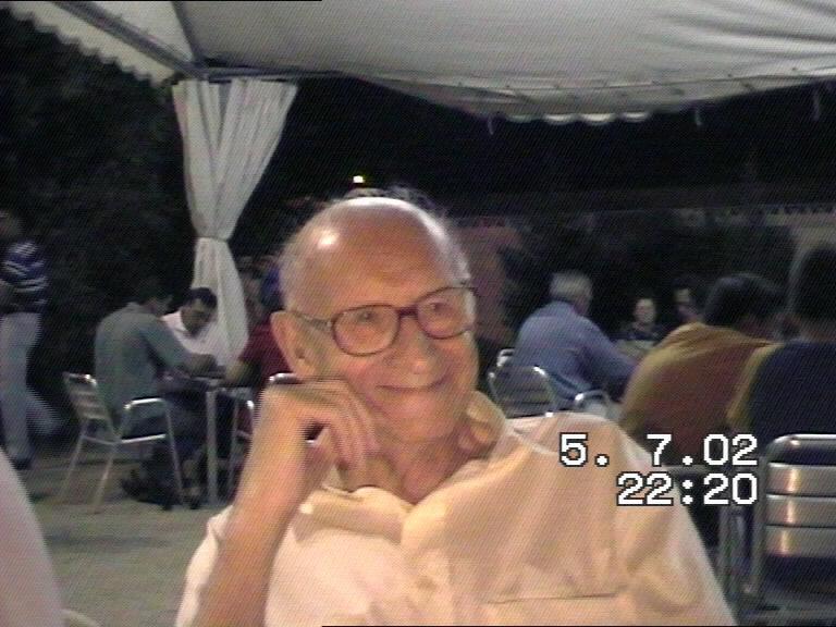 Luis en Usera en 2002