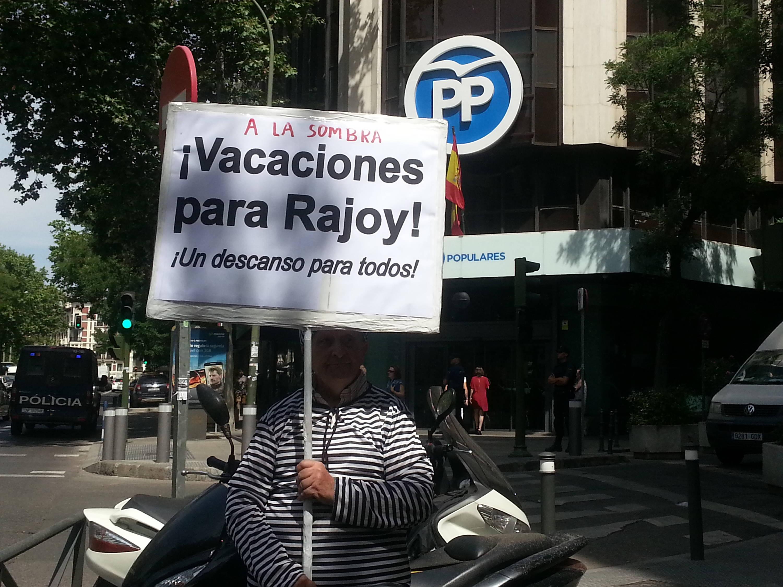 Vacaciones para Rajoy